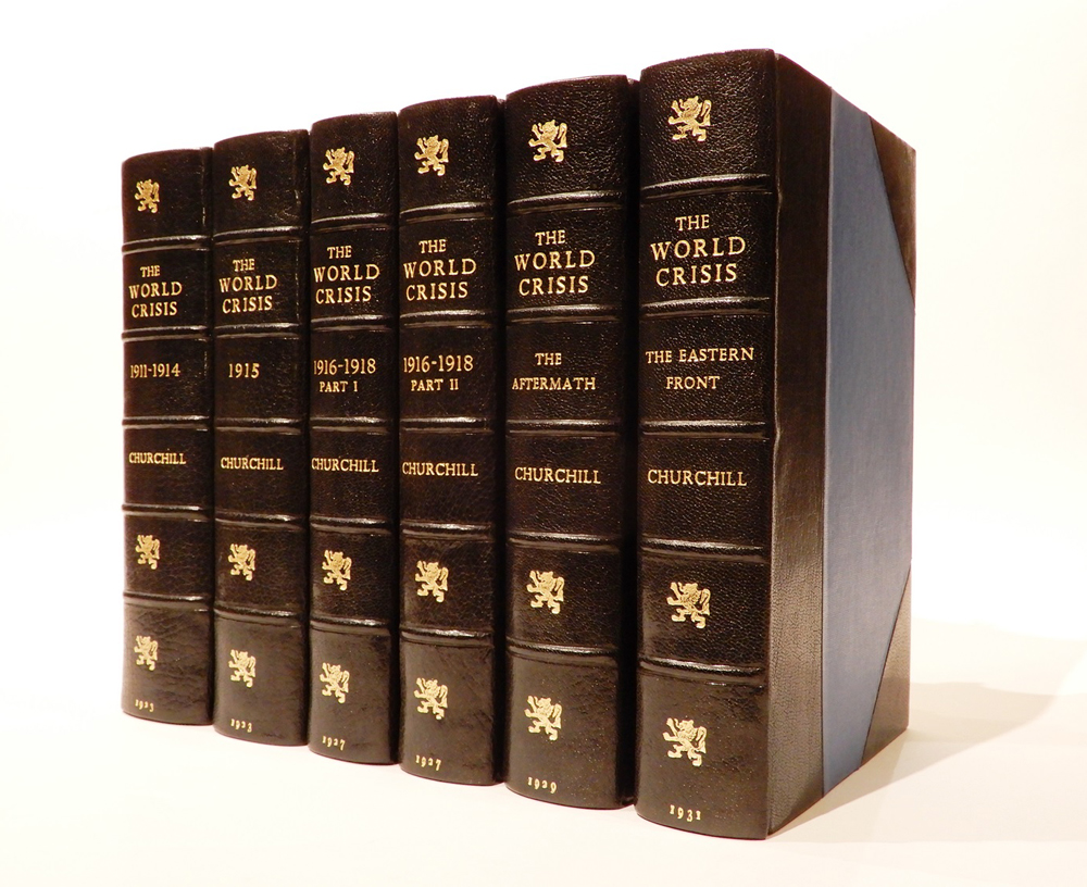 The World Crisis [6 Volumes]. London: Thornton Butterworth Limited, 1923-1931
